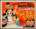 """Movie Posters:Comedy, The Big Store (MGM, 1941). Title Lobby Card (11"""" X 14"""").. ..."""