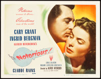 "Notorious (RKO, 1946). Title Lobby Card (11"" X 14"")"