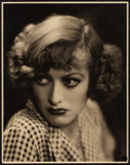 "Movie Posters:Drama, Joan Crawford in Rain by John Miehle (United Artists, 1932).Portrait Photo (10.75"" X 13.75"").. ..."