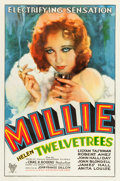 "Movie Posters:Drama, Millie (RKO, 1931). One Sheet (27"" X 41"").. ..."