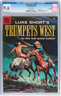 Silver Age (1956-1969):Western, Four Color #875 Luke Short's Trumpets West - File Copy (Dell, 1958)CGC NM+ 9.6 Off-white pages....