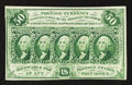 Fractional Currency:First Issue, Fr. 1312 50¢ First Issue About New.. ...