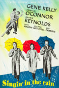 """Movie Posters:Musical, Singin' in the Rain (MGM, 1952). Swedish One Sheet (27.5"""" X39.5"""").. ..."""