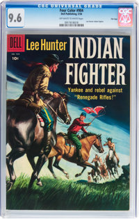 Four Color #904 Lee Hunter Indian Fighter - File Copy (Dell, 1958) CGC NM+ 9.6 Off-white to white pages