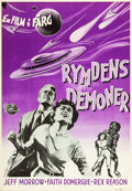"Movie Posters:Science Fiction, This Island Earth (Universal International, 1955). Swedish OneSheet (27.5"" X 39.5"").. ..."