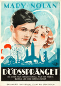 """Movie Posters:Drama, Young Desire (Universal, 1930). Swedish One Sheet (27.5"""" X 39.5"""")....."""