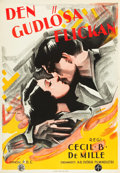 "Movie Posters:Drama, The Godless Girl (Svensk Filmindustri, 1929). Swedish One Sheet(27.5"" X 39.5"") Eric Rohman Art.. ..."