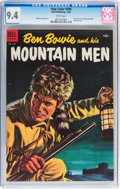 Golden Age (1938-1955):Adventure, Four Color #599 Ben Bowie and his Mountain Men (Dell, 1954) CGC NM 9.4 White pages....