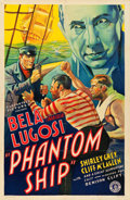"Movie Posters:Thriller, Phantom Ship (Guaranteed Pictures, 1935). One Sheet (27"" X 41"").. ..."