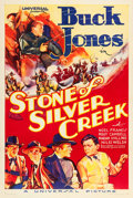"Movie Posters:Western, Stone of Silver Creek (Universal, 1935). One Sheet (27"" X 41"").. ..."