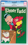 Golden Age (1938-1955):Cartoon Character, Four Color #628 Elmer Fudd (Dell, 1955) CGC NM 9.4 White pages....