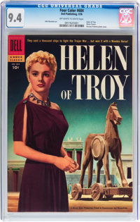 Four Color #684 Helen of Troy (Dell, 1956) CGC NM 9.4 Off-white to white pages