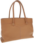 Luxury Accessories:Bags, Tod's Light Brown Leather Shoulder Bag. ...