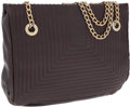 Luxury Accessories:Bags, Fendi Brown Leather Shoulder Bag with Gold Hardware. ...
