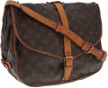 Luxury Accessories:Bags, Louis Vuitton Classic Monogram Canvas Saumur Messenger Bag. ...