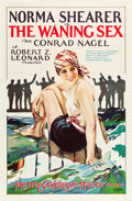 "Movie Posters:Romance, The Waning Sex (MGM, 1926). One Sheet (27"" X 41"").. ..."