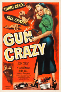 "Gun Crazy (United Artists, 1949). One Sheet (27"" X 41"")"