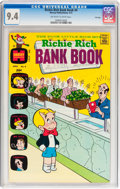 Bronze Age (1970-1979):Cartoon Character, Richie Rich Bank Book #4 File Copy (Harvey, 1973) CGC NM 9.4Off-white to white pages....