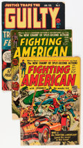 Golden Age (1938-1955):Miscellaneous, Comic Books - Assorted Simon & Kirby Reading Copies Group (Various Publishers, 1950s) Condition: FR/GD.... (Total: 4 Comic Books)