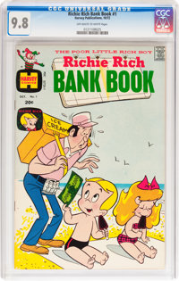 Richie Rich Bank Book #1 (Harvey, 1972) CGC NM/MT 9.8 Off-white to white pages