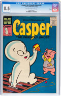 Golden Age (1938-1955):Cartoon Character, Casper the Friendly Ghost #37 File Copy (Harvey, 1955) CGC VF+ 8.5Light tan to off-white pages....