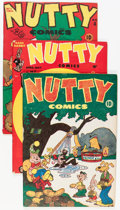 Golden Age (1938-1955):Funny Animal, Nutty Comics #nn, 4, and 7 Group (Harvey, 1945-46).... (Total: 3Comic Books)