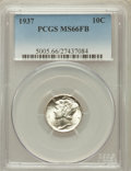 Mercury Dimes: , 1937 10C MS66 Full Bands PCGS. PCGS Population (1947/787). NGCCensus: (896/516). Mintage: 56,865,756. Numismedia Wsl. Pric...