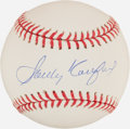 Autographs:Bats, Sandy Koufax Single Signed Baseball....