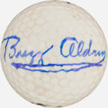 Golf Collectibles:Autographs, Buzz Aldrin Signed Golf Ball. ...