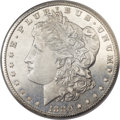 Morgan Dollars, 1880-CC $1 8 Over Low 7 MS66 Prooflike NGC. VAM-6....