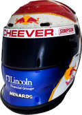 Miscellaneous Collectibles:General, 2002 Eddie Cheever Race Worn Helmet....