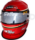 Miscellaneous Collectibles:General, 2002 Al Unser, Jr. Race Worn Helmet....