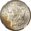 Morgan Dollars, 1881-S $1 MS68 NGC....