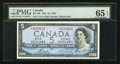 Canadian Currency: , BC-39c $5 1954. ...