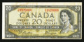 Canadian Currency: , BC-33b $20 Devil's Face. ...