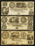 Obsoletes By State:Michigan, Sault De St. Mary, MI- The Chippeway County Bank $5; $10; $20 July 1848 G4; G5; G6, Lee SAU-2-5; 7; 8. ... (Total: 3 notes)