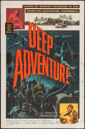 "Movie Posters:Adventure, Deep Adventure & Other Lot (Warner Brothers, 1957). One Sheets(2) (27"" X 41""). Adventure.. ... (Total: 2 Items)"