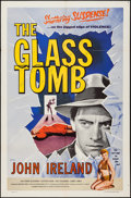 """Movie Posters:Mystery, The Glass Tomb (Lippert, 1955). One Sheet (27"""" X 41""""). Mystery....."""