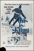"""Movie Posters:Sports, This is Skiing (General Film, 1972). One Sheet (27"""" X 41""""). Sports.. ..."""