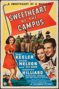 "Movie Posters:Musical, Sweetheart of the Campus (Columbia, 1941). One Sheet (27"" X 41""). Musical.. ..."