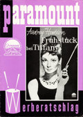 "Movie Posters:Romance, Breakfast at Tiffany's (Paramount, 1961). Uncut German Pressbook(8.5"" X 12"", 19 pages with double sided covers), German Pho...(Total: 5 Items)"