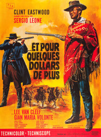 """For a Few Dollars More (United Artists, 1966). French Grande (47"""" X 63"""")"""