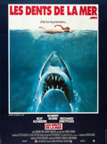 """Movie Posters:Horror, Jaws (Universal, 1975). French Grande (47"""" X 63"""").. ..."""