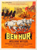 "Movie Posters:Academy Award Winners, Ben-Hur (MGM, 1959). French Grande (47"" X 63"").. ..."