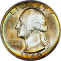 Washington Quarters, 1940-S 25C MS67 PCGS. CAC....