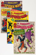 Silver Age (1956-1969):Superhero, The Amazing Spider-Man Group (Marvel, 1963-66) Condition: Average GD/VG.... (Total: 15 Comic Books)