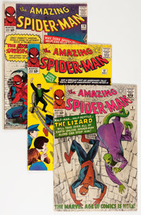 The Amazing Spider-Man Group (Marvel, 1963-66) Condition: Average GD/VG.... (Total: 15 Comic Books)