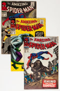 Silver Age (1956-1969):Superhero, The Amazing Spider-Man Group (Marvel, 1966-72) Condition: Average FN.... (Total: 34 Comic Books)