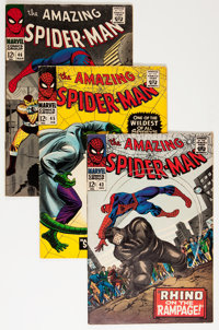 The Amazing Spider-Man Group (Marvel, 1966-72) Condition: Average FN.... (Total: 34 Comic Books)