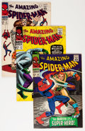 Silver Age (1956-1969):Superhero, The Amazing Spider-Man Group (Marvel, 1966-73) Condition: Average VG.... (Total: 37 Comic Books)